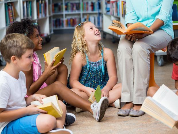 Lesen macht Spaß. Vorlesen auch. Machen Sie mit!